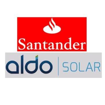 Santander e Aldo Solar anunciam linha de crédito para geração distribuída