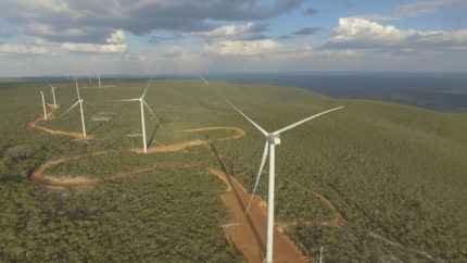 Aneel aprova operação comercial de 59,4 MW eólicos na BA